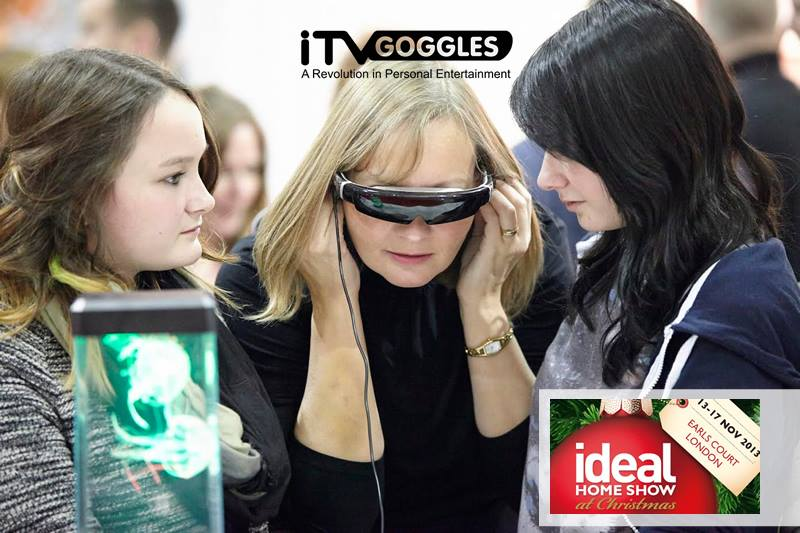 Ideal Hone: At Christmas  - iTVGoggles Video Glasses